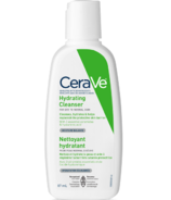 CeraVe Hydrating Face Wash Travel Size Daily Facial Cleanser