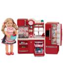 Our Generation Doll Gourmet Kitchen Set
