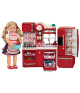 Our Generation Doll Gourmet Kitchen Set