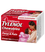 Tylenol Children's Chewable Tablets Bubble Gum