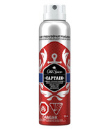 Old Spice Invisible Spray Antiperspirant And Deodorant for Men Captain