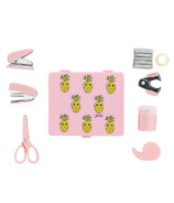 Yoobi Mini Supply Kit Pink Pineapple