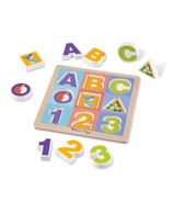 Melissa & Doug ABC- 123 Chunky Puzzle