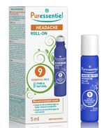 Puressentiel Headache Roll-On 9 Essentail Oils