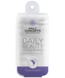 DAILY CONCEPTS Beauty Headband - White