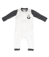 Nest Designs Organic Cotton One Piece Zippered PJ Panda Party