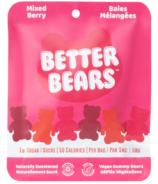 Better Bears Vegan Gummy Bears Mixed Berry