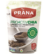 PRANA Proactive Organic Ground Black Chia Seeds