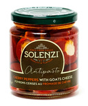 Solenzi Antipasto Cherry Peppers with Goat Cheese