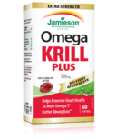 Jamieson Omega Krill Plus with No Fishy Aftertaste