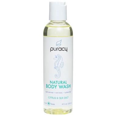 Puracy Natural Body Wash Travel