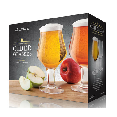 Final Touch Cider Glasses