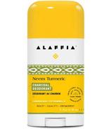 Alaffia Neem Turmeric Deodorant Lemongrass & Charcoal