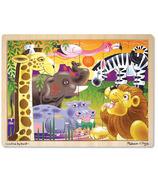 Melissa & Doug African Plains Wooden Jigsaw Puzzle
