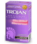Trojan Her Pleasure Ultra Ribbed Lubricated Latex Condoms