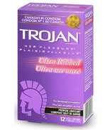 Trojan Her Pleasure Ultra Ribbed Lubricated Condoms