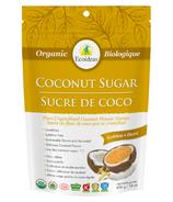Sucre de noix de coco doré biologique Ecoideas
