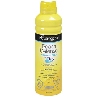 Neutrogena Beach Defense Kids Sunscreen Spray SPF 60