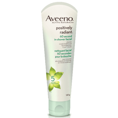 Aveeno Positively Radiant 60 Second In-Shower Facial Cleanser