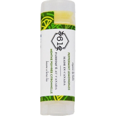Crate 61 Organics Peppermint Lemongrass Lip Balm