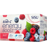 SISU Ester-C Energy Boost Wildberry