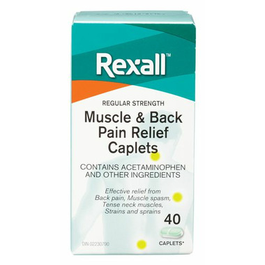 Rexall Regular Strenth Muscle and Back Pain Relief
