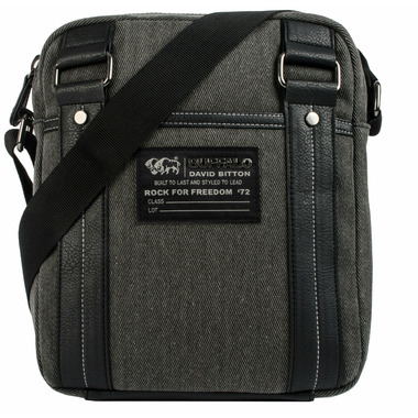Buffalo David Bitton Robinson Denim Crossbody Black