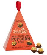 Joe & Seph's Dark Chocolate Popcorn Bites Baubles