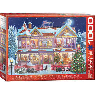 EuroGraphics Getting Ready for Christmas by Steve Crisp Puzzle