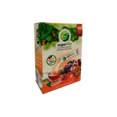 Sugarlike Zero Calorie Sweetener Sticks with Monk Fruit