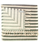 Stray & Wander Harbour Turkish Towel Black