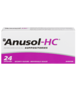Anusol Hydro Cortisone Hemorrhoidal Suppositories