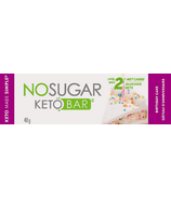 No Sugar Company Keto Bar Birthday Cake