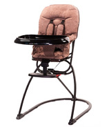 Guzzie & Guss Tiblit High-Chair With Microfiber Chocolate