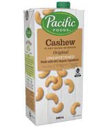 Pacific Cashew Plant Based Beverage Original Unsweetened