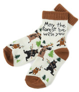 Hatley May The Forest Be With You Kids Socks
