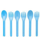 OmieLife Fork & Spoon Set Blue