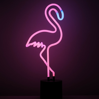 Amped & Co. Neon Flamingo Desk Light
