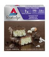 Atkins Barres Endulge à la noix de coco - paquet de 5
