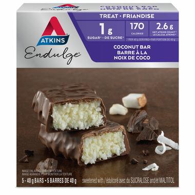 Atkins Endulge Bars Coconut 5-Pack