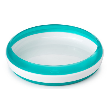 OXO Tot Training Plate with Removable Ring Teal
