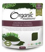 Organic Traditions chlorella en poudre