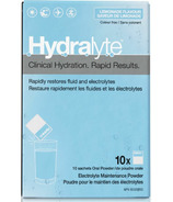 Hydralyte Electrolyte Maintenance Powder Lemonade Flavour