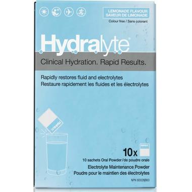 Hydralyte Electrolyte Maintenance Powder Lemonade Flavour