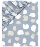 Lambs & Ivy Elephant Tales Crib Sheet