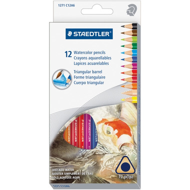 Staedtler Watercolour Pencils Set