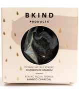 BKIND Konjac Facial Sponge Bamboo Charcoal