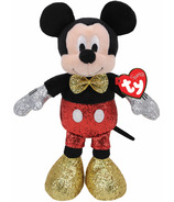 Ty Disney Mickey Super Sparkle Red Regular