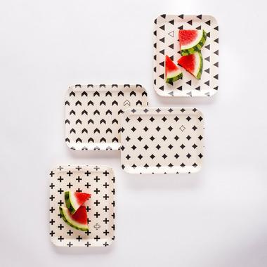 YoungLUX Bamboo Fibre Small Plates