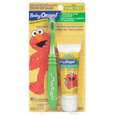 Orajel Baby Tooth & Gum Cleanser Apple Banana
